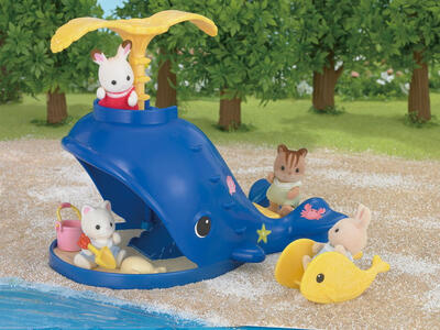 Sylvanian Families. Splash And Play Whale - 7