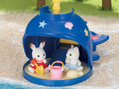 Sylvanian Families. Splash And Play Whale - 10