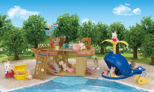 Sylvanian Families. Splash And Play Whale - 12