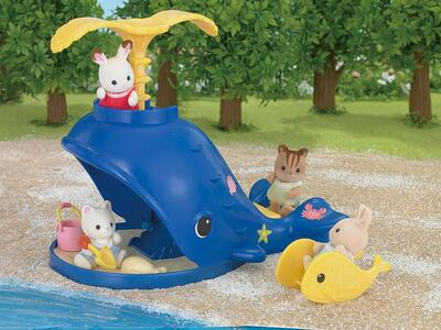 Sylvanian Families. Splash And Play Whale - 20