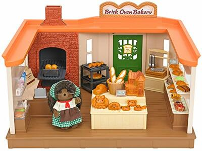 Sylvanian Families Panetteria + 1 Personaggio Brick Oven Bakery - 2