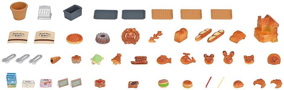 Sylvanian Families Panetteria + 1 Personaggio Brick Oven Bakery - 11