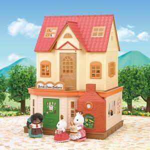 Sylvanian Families Panetteria + 1 Personaggio Brick Oven Bakery - 14