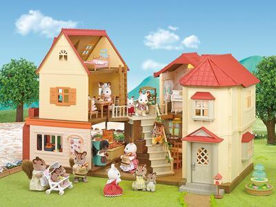 Sylvanian Families Panetteria + 1 Personaggio Brick Oven Bakery - 15