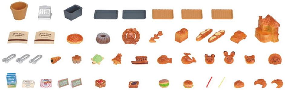 Sylvanian Families Panetteria + 1 Personaggio Brick Oven Bakery - 4