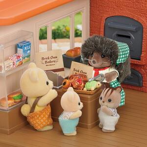 Sylvanian Families Panetteria + 1 Personaggio Brick Oven Bakery - 9