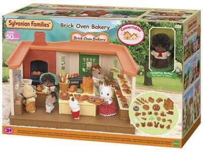 Sylvanian Families Panetteria + 1 Personaggio Brick Oven Bakery - 10