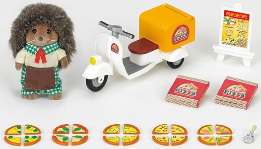Sylvanian Families Consegna Pizza A Domicilio Cod 5238 Idee Regalo Collezionismo - 4