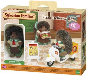 Sylvanian Families Consegna Pizza A Domicilio Cod 5238 Idee Regalo Collezionismo - 9