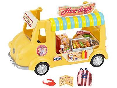 Sylvanian Families Furgoncino Vendita Hot Dog 40Pz Cod 5240 Collezionismo