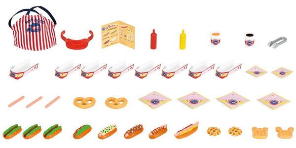 Sylvanian Families Furgoncino Vendita Hot Dog 40Pz Cod 5240 Collezionismo - 4