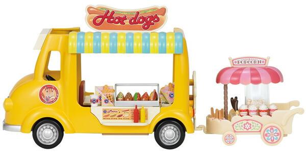 Sylvanian Families Furgoncino Vendita Hot Dog 40Pz Cod 5240 Collezionismo - 7