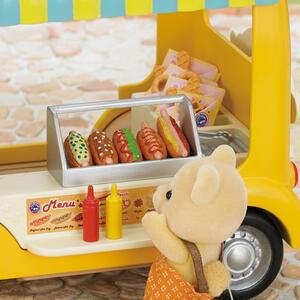 Sylvanian Families Furgoncino Vendita Hot Dog 40Pz Cod 5240 Collezionismo - 8