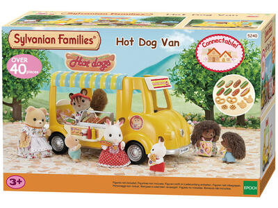 Sylvanian Families Furgoncino Vendita Hot Dog 40Pz Cod 5240 Collezionismo - 9