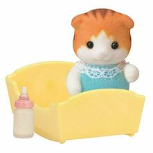 Sylvanian Families. Maple Cat Baby