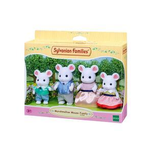 Sylvanian Families. Marshmellow Mouse Family