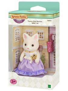 Sylvanian Families. Town Girl Series. Silk Cat
