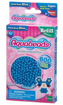 Aquabeads Solid Bead Pack - Blue