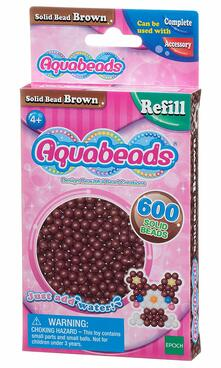 Aquabeads Solid Bead Pack. Brown