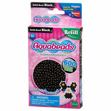 Aquabeads Solid Bead Refill Pack Black