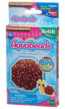 Aquabeads Jewel Bead Pack - Brown