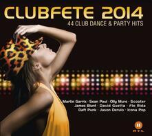 Clubfete 2014 - CD Audio