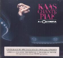 Chante Piaf a L'olympia - CD Audio + DVD di Patricia Kaas