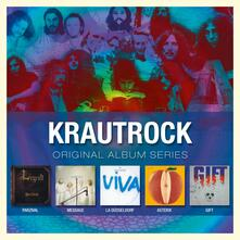 Krautrock. Original Album Series - CD Audio