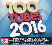 100 Tubes 2016 - CD Audio
