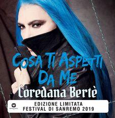 Vinile Cosa ti aspetti da me (Sanremo 2019) Loredana Bertè