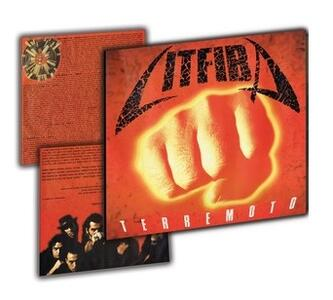 Vinile Terremoto (Esclusiva IBS.it - Limited, Numbered & Orange Transparent 180 gr. Vinyl) Litfiba