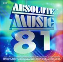 Absolute Music 81 - CD Audio