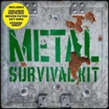 Metal Survival Kit (+ toppa, portachiavi, adesivi, earplugs) - CD Audio + DVD