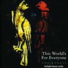 This World's for Everyone - CD Audio di Korgis
