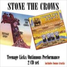 Teenage Licks - CD Audio di Stone the Crows