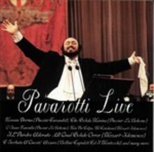 Pavarotti Live - CD Audio di Luciano Pavarotti