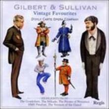 Vintage Favorites - CD Audio di William S. Gilbert,Arthur Sullivan