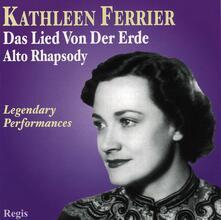 Il canto della terra (Das Lied von der Erde) - CD Audio di Gustav Mahler,Kathleen Ferrier,Bruno Walter,Wiener Philharmoniker