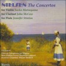 Concertos - CD Audio di Carl August Nielsen