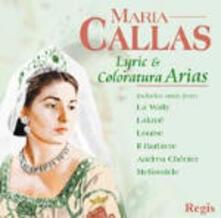 Arie di coloratura - CD Audio di Maria Callas