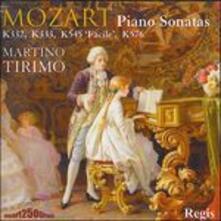 Piano Sonatas K332, 333, 54 - CD Audio di Wolfgang Amadeus Mozart
