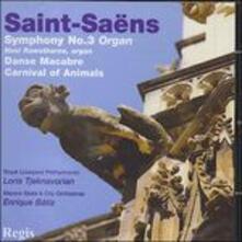 Sinfonia n.3 - CD Audio di Camille Saint-Saëns