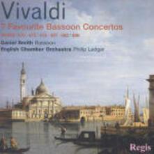 Sette concerti per fagotto - CD Audio di Antonio Vivaldi,English Chamber Orchestra,Philip Ledger,Daniel Smith
