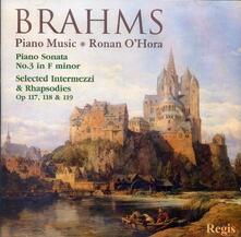Musica per Pianoforte - CD Audio di Johannes Brahms