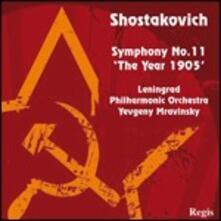 Sinfonia n.11 - CD Audio di Dmitri Shostakovich,Evgeny Mravinsky,Leningrad Philharmonic Orchestra
