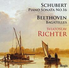 Piano Sonata-Bagatelles - CD Audio di Ludwig van Beethoven,Franz Schubert