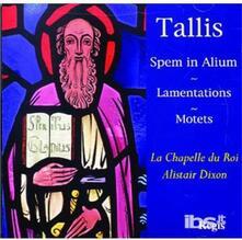 Spem In Alium-Lamentation - CD Audio di Thomas Tallis