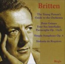 Guida Del Giovane All'orchestra - CD Audio di Benjamin Britten