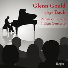 Partitas - Italian Concerto - CD Audio di Johann Sebastian Bach