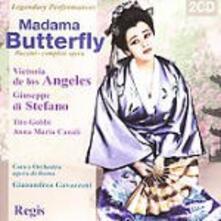 Madama Butterfly - CD Audio di Giacomo Puccini,Giuseppe Di Stefano,Victoria De Los Angeles,Gianandrea Gavazzeni,Orchestra del Teatro dell'Opera di Roma